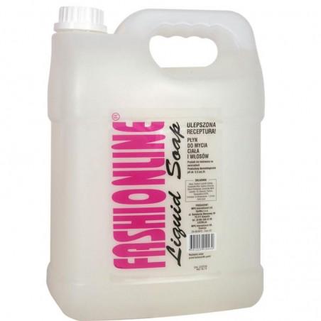 Mydło Fashionline 5000 ml w płynie białe do mycia ciała i włosów