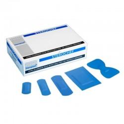 Plastry wykrywalny Sterochef  zestaw 5 rozmiarów 100 sztuk