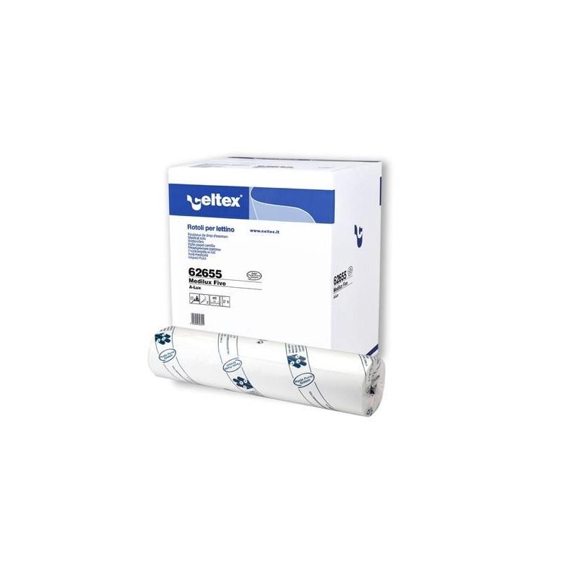 Podkład medyczny celuloza 50m/50cm biały 2 warstwy Celtex SpA