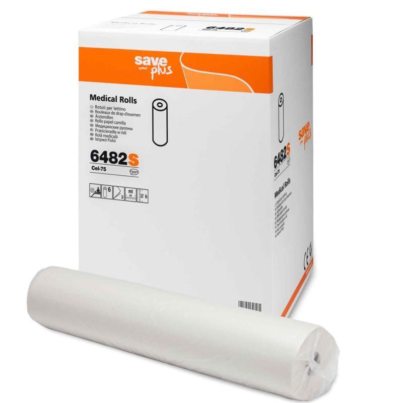 Podkład medyczny celuloza mix 68m/60cm Eko  2 warstwy Celtex SpA
