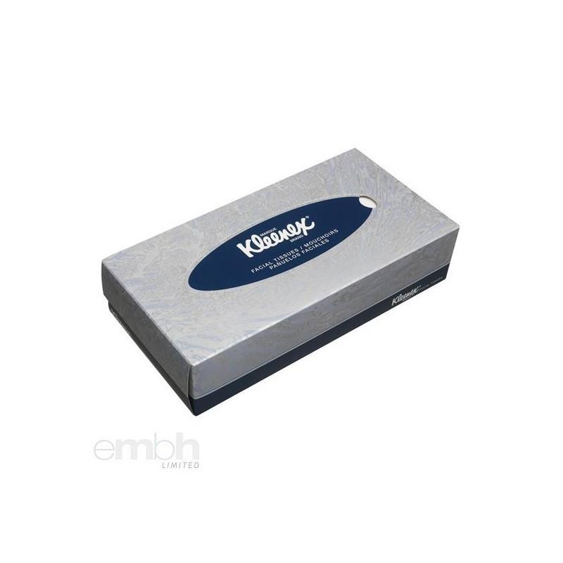 Chusteczki kosmetyczne KLEENEX® białe karton 20 opakowań