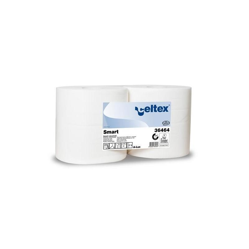 Czyściwo celulozowe Smart 800 białe 240 metrów 2 warstwy Celtex SpA
