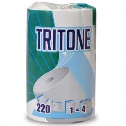 Ręcznik w rolce celuloza  TRITONE 53m  biały 3 warstwowy Celtex SpA