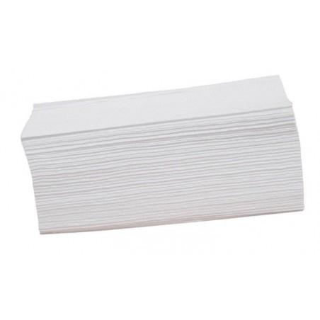 Ręcznik ZZ makulaturowy, biały 1w  4000