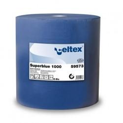 Czyściwo celuloza SuperBlue 1000 niebieskie 360 metrów 3 warstwy Celtex SpA