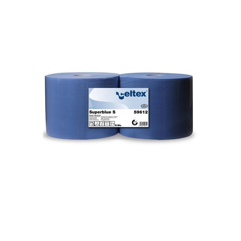 Czyściwo celuloza SuperBlue S 500 niebieskie 180 metrów 3 warstwy Celtex SpA