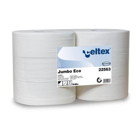 Papier toaletowy Jumbo Eco białuy 320 metrów 2 warstwowy Celtex SpA