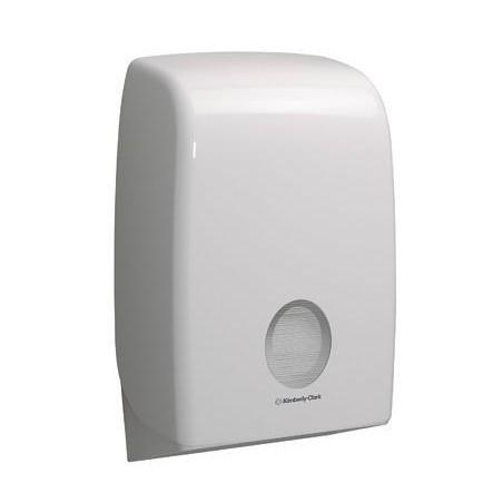 AQUARIUS* dozownik papierowych ręczników składanych  Interleaved / biały