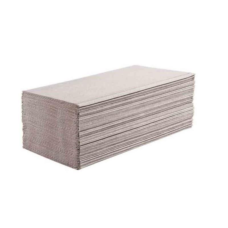 Ręcznik ZZ makulaturowy, szary 1w 4000
