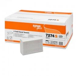Ręcznik składany celuloza mix V 3000 listków biały 2 warstwowy  Celtex SpA