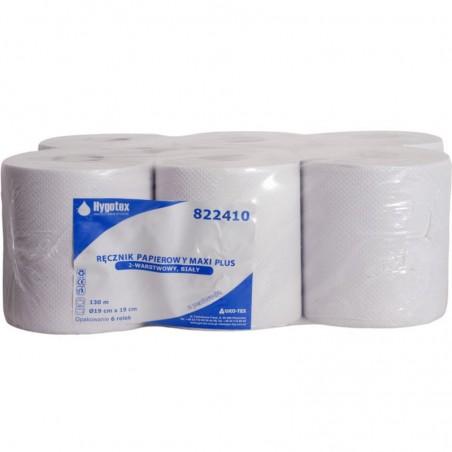 Ręcznik w rolce MAXI biały  2w 130m  a6 rolek
