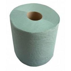 Ręcznik w rolce MAXI zielony 1w  130m a6 rolek