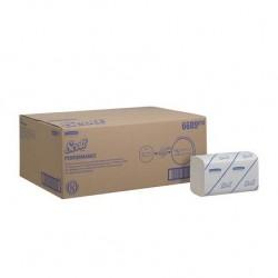 SCOTT ręcznik papierowy składany 6689 biały karton