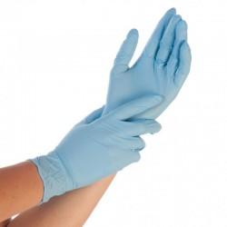 Rękawice nitrylowe a100 sztuk niebieskie 1,5 AQL Hygotex