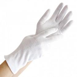 Rękawice bawełniane białe a 12 par gr. 145g/m2