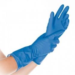 Rękawice gospodarcze Bettina flokowane niebieskie