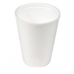 Kubek jednorazowy styropian biały 200ml  a 40sztuk