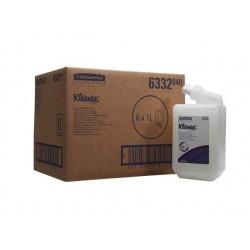 KLEENEX® żel czyszczący do włosów i ciała - kaseta o pojemności 1 litra biały