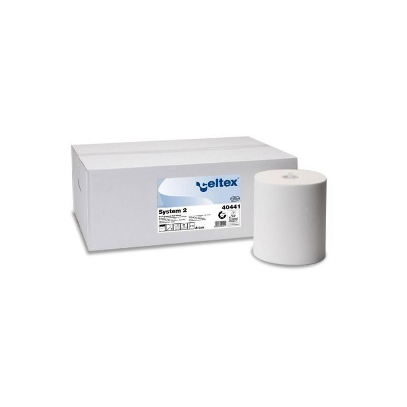 Ręcznik w roli celuloza 140 m biały 2w autocut Celtex SpA