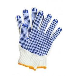 Rękawice dziane z nakropieniem