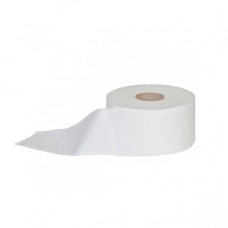 Papier JUMBO biały celulozowy 105 metrów 2 warstwy a12 sztuk