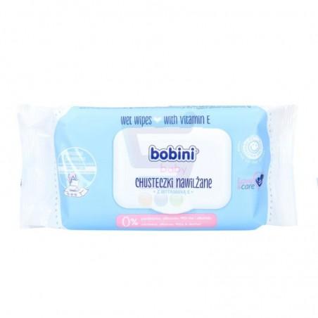 Chusteczki  nawilżone Bobini 70 szt.z witaminą E
