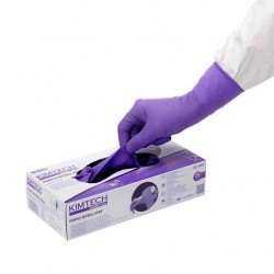 Rękawica KIMTECH SCIENCE Purple Nitrile XTRA M 30cm 50 sztuk x 10 op.