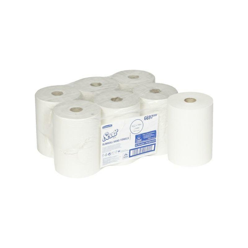 SCOTT® SLIMROLL ręcznik 190m w roli karton 6 rolek kod 6697