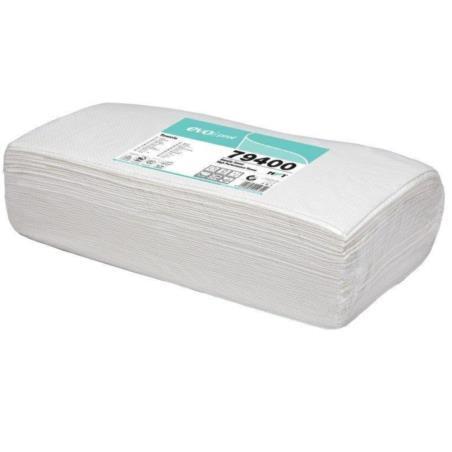 Ręcznik fryzjerski biały 80x40 cm 3-warstwowy a 50 sztuk