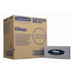 Chusteczki  KLEENEX® białe karton 20 opakowań
