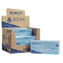 Czyściwo WYPALL  X50 kod 7441 6x50 kart. niebieskie QF