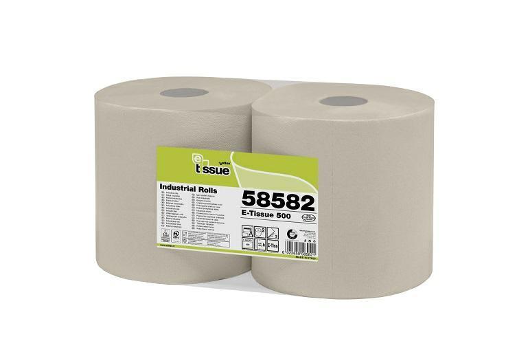 Czyściwo Industrial 500 E-Tissue 170 m , 2 warstwowe a 2 rolki CELTEX